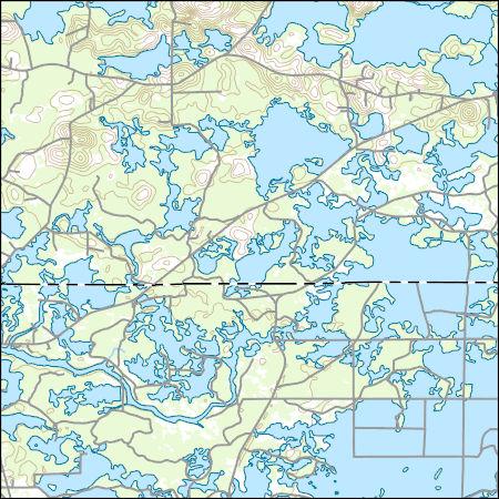 Greenville Florida Map.Usgs Topo Map Vector Data Vector 18468 Greenville Se Florida