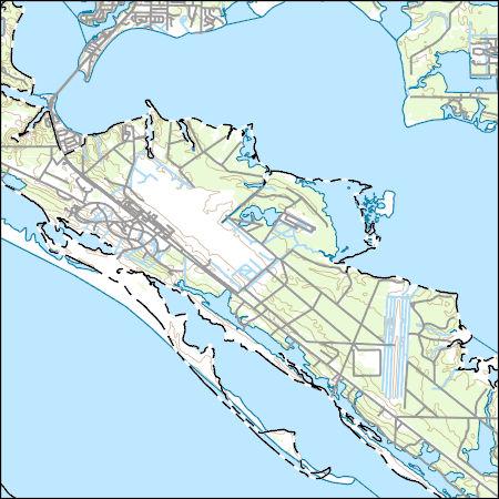 Topo Map Florida.Usgs Topo Map Vector Data Vector 26482 Long Point Florida