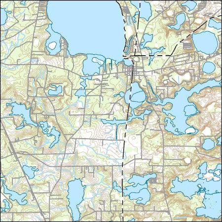 Melrose Florida Map.Usgs Topo Map Vector Data Vector 70867 Melrose Florida 20180626