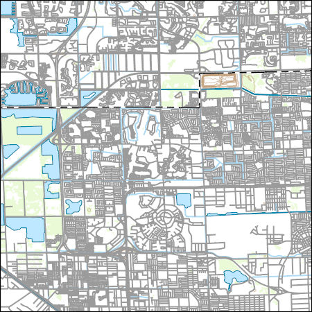 USGS Topo Map Vector Data (Vector) 33291 Opa-locka, Florida 20180626 ...