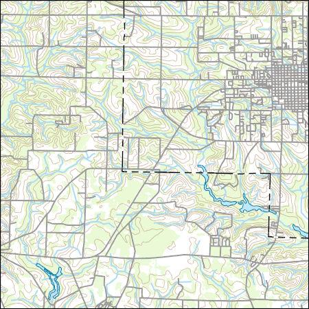 Map Of West Georgia.Usgs Topo Map Vector Data Vector 15389 Fitzgerald West Georgia