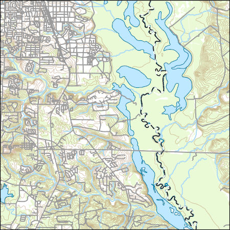 Warner Robbins Georgia Map.Usgs Topo Map Vector Data Vector 47500 Warner Robins Se Georgia