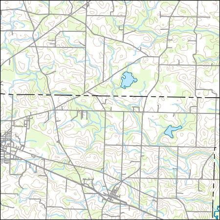 Map Of East Georgia.Usgs Topo Map Vector Data Vector 12520 Donalsonville East Georgia