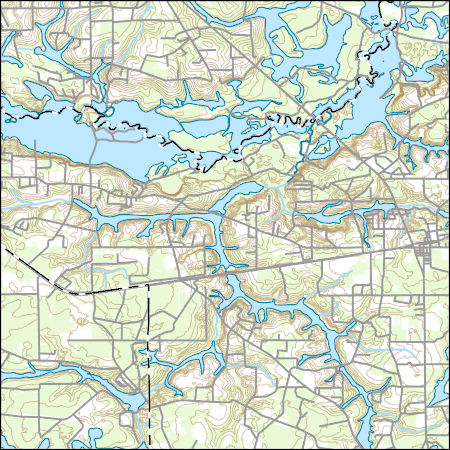 Map Of West Georgia.Usgs Topo Map Vector Data Vector 20605 Hoboken West Georgia