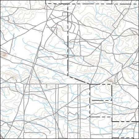 USGS Topo Map Vector Data (Vector) 10493 Coyote Butte, Idaho ...