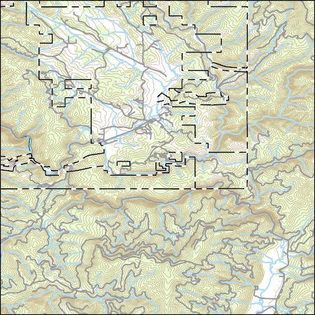 USGS Topo Map Vector Data (Vector) 69986 Elk City, Idaho 20170704 ...
