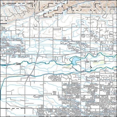 Usgs Topo Map Vector Data Vector 42934 Star Idaho 20170708 For