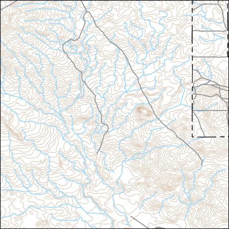USGS Topo Map Vector Data (Vector) 44133 Taber NE, Idaho ...