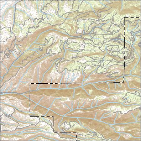 Usgs Topo Map Vector Data Vector 72042 White Bird Hill Idaho