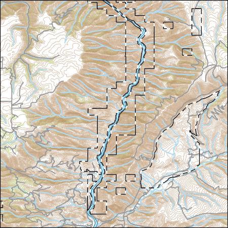 Usgs Topo Map Vector Data Vector 48625 White Bird Idaho 20170704