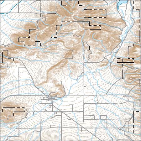 Albion Idaho Map.Usgs Topo Map Vector Data Vector 426 Albion Idaho 20170708 For