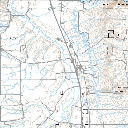 USGS Topo Map Vector Data (Vector) 1410 Arimo, Idaho ...
