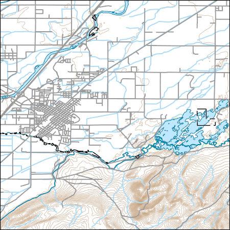 Usgs Topo Map Vector Data Vector 4224 Blackfoot Idaho 20170708