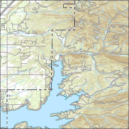 Usgs Topo Map Vector Data Vector 19781 Hayden Lake Idaho 20170713