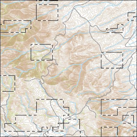 USGS Topo Map Vector Data (Vector) 45515 Toy Pass, Idaho 20170711 ...