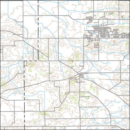 Hampshire Illinois Map.Usgs Topo Map Vector Data Vector 19137 Hampshire Illinois