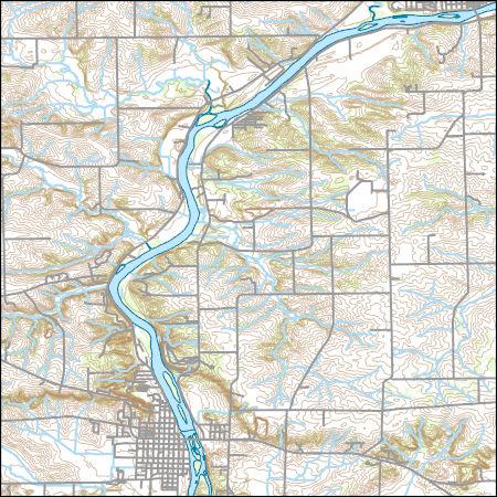 Usgs Topo Map Vector Data Vector 33385 Oregon Illinois 20180625