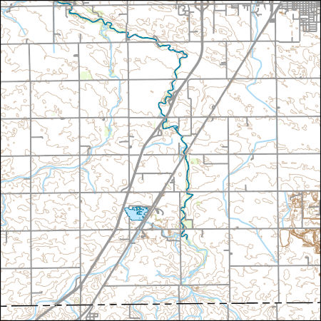 Usgs Topo Map Vector Data Vector 42366 Southwest Pontiac Illinois