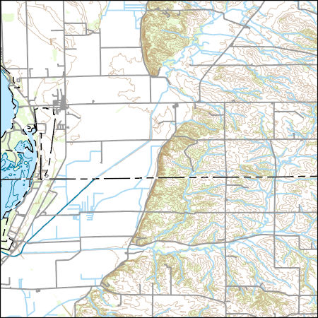 Thomson Illinois Map.Usgs Topo Map Vector Data Vector 44923 Thomson Illinois 20180626