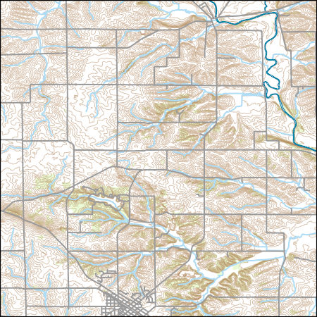 Usgs Topo Map Vector Data Vector 25418 Lena Illinois 20180626 For
