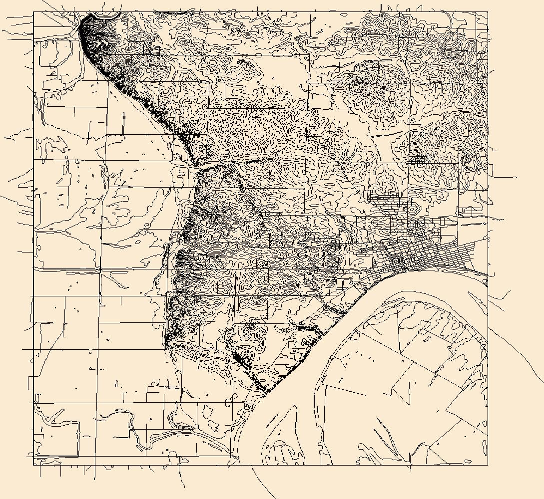 Usgs Combined Vector For Mount Vernon Indiana 20160708 7 5 X 7 5