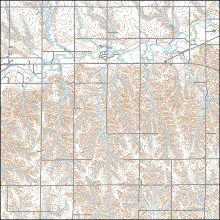 USGS Topo Map Vector Data (Vector) 6800 Calvert, Kansas