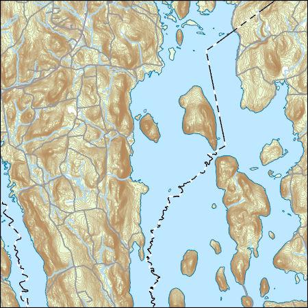 USGS Topo Map Vector Data (Vector) 36729 Quabbin Reservoir ... Quabbin Reservoir Map on
