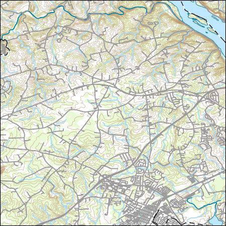 USGS Topo Map Vector Data (Vector) 50 Aberdeen, Maryland 20170226 ...