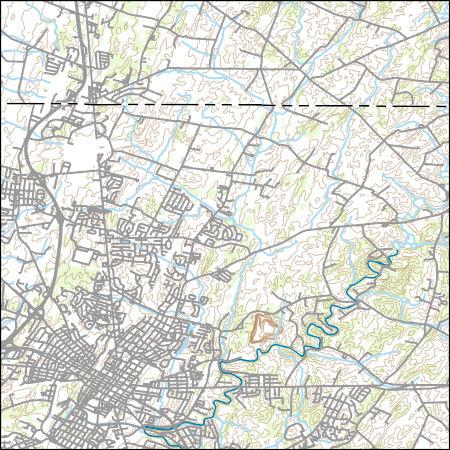 USGS Topo Map Vector Data (Vector) 18902 Hagerstown, Maryland ...