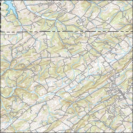 USGS Topo Map Vector Data (Vector) 27419 Manchester, Maryland ...