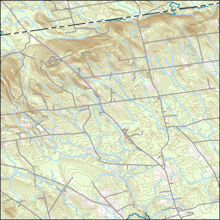 Topo Map Of Maine.Usgs Topo Map Vector Data Vector 8198 Charleston Maine 20180717