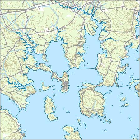 Harrington Maine Map.Usgs Topo Map Vector Data Vector 19417 Harrington Maine 20180717