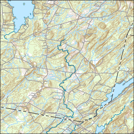 Topo Map Of Maine.Usgs Topo Map Vector Data Vector 47948 Weeks Mills Maine 20180717