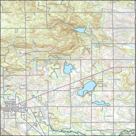 Usgs Topo Map Vector Data Vector 48147 West Branch