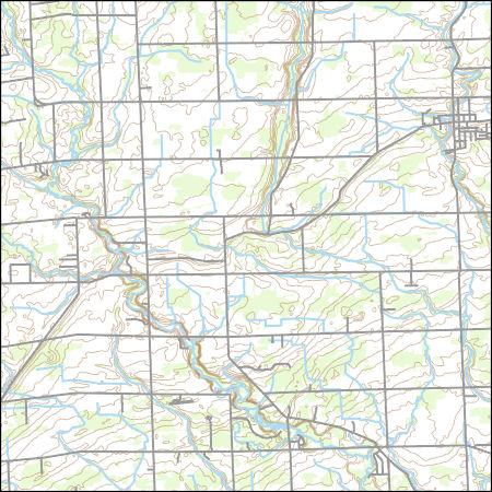 Usgs Topo Map Vector Data Vector 69204 Armada Michigan 20170328