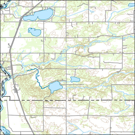 USGS Topo Map Vector Data (Vector) 15996 Fort Ripley ... Camp Ripley Map on camp san luis obispo map, camp grayling map, fort bridger map, camp parsons map, camp ashland map, camp rapid map, camp coniston map, camp butner map,