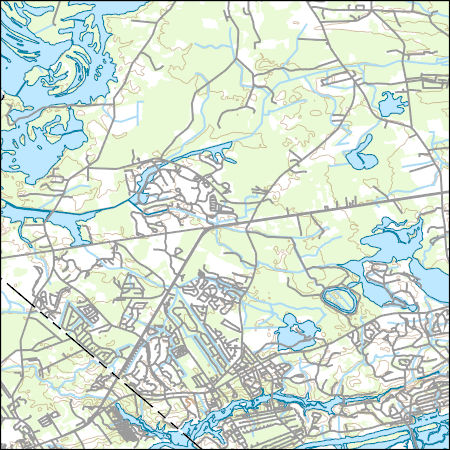 Usgs Combined Vector For Calabash North Carolina 20160618 7 5 X 7 5
