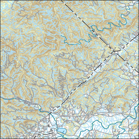 Pisgah Forest Nc Map.Usgs Combined Vector For Pisgah Forest North Carolina 20160712 7 5