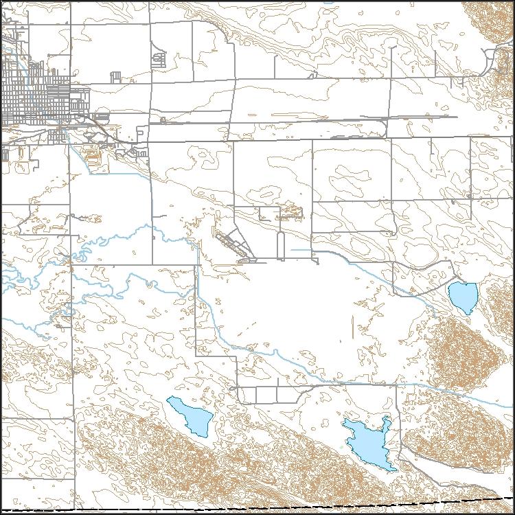 Usgs Topo Map Vector Data Vector 631 Alliance East Nebraska