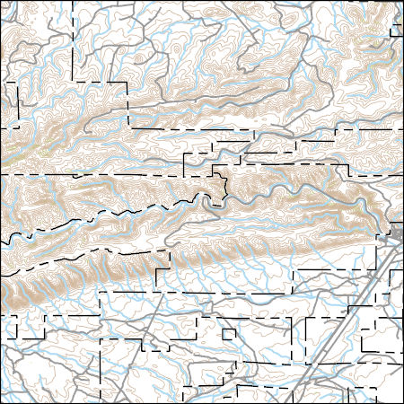 USGS Topo Map Vector Data (Vector) 7302 Carlsbad Caverns, New Mexico Carlsbad Caverns Location Map on