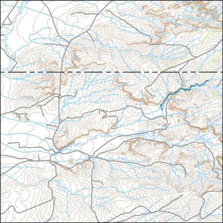 Ojo Caliente New Mexico Map.Usgs Topo Map Vector Data Vector 33002 Ojo Caliente Reservoir New