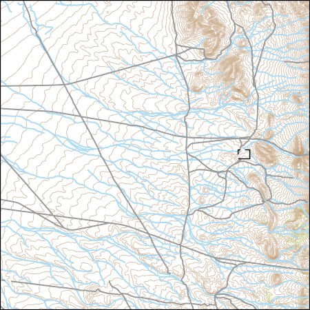 Topographic Map Of Nevada.Usgs Topo Map Vector Data Vector 13446 East Of Pancake Summit
