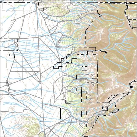 Usgs Topo Map Vector Data Vector 34196 Paris Creek Nevada 20180816 For 7 5 X 7 5 Minute Shapefile Sciencebase Catalog