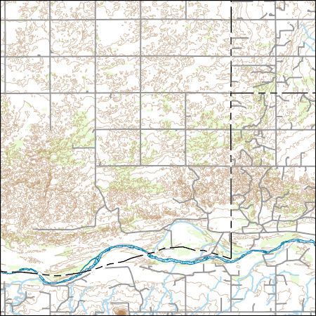 Mountains In Oklahoma Map.Usgs Combined Vector For Glass Mountains Ne Oklahoma 20160520 7 5 X