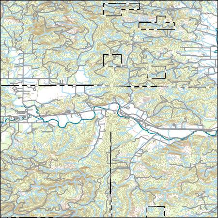 Grand Ronde Oregon Map.Usgs Topo Map Vector Data Vector 18000 Grand Ronde Oregon