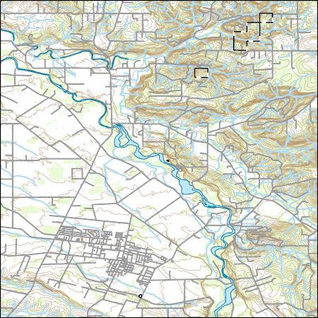 Usgs Topo Map Vector Data Vector 70935 Molalla Oregon 20170629