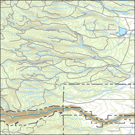 Usgs Topo Map Vector Data Vector 38226 Rock Creek Reservoir