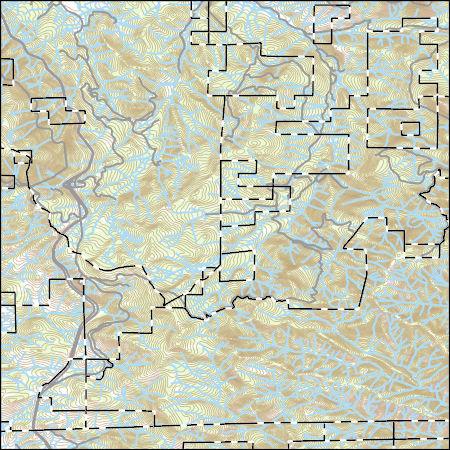 USGS Topo Map Vector Data (Vector) 41511 Siskiyou Pass