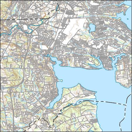 Topographic Map Rhode Island.Usgs Topo Map Vector Data Vector 13374 East Greenwich Rhode