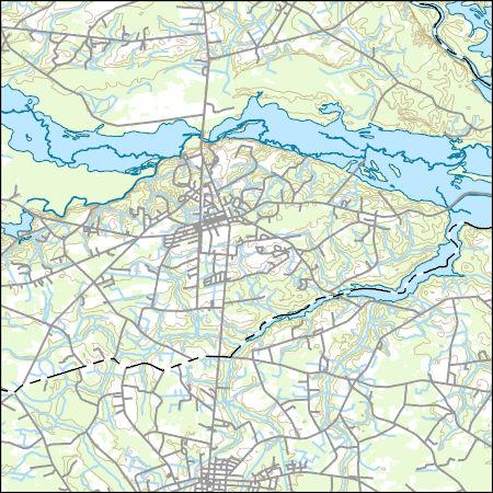 Usgs Topo Map Vector Data Vector 22729 Johnsonville South